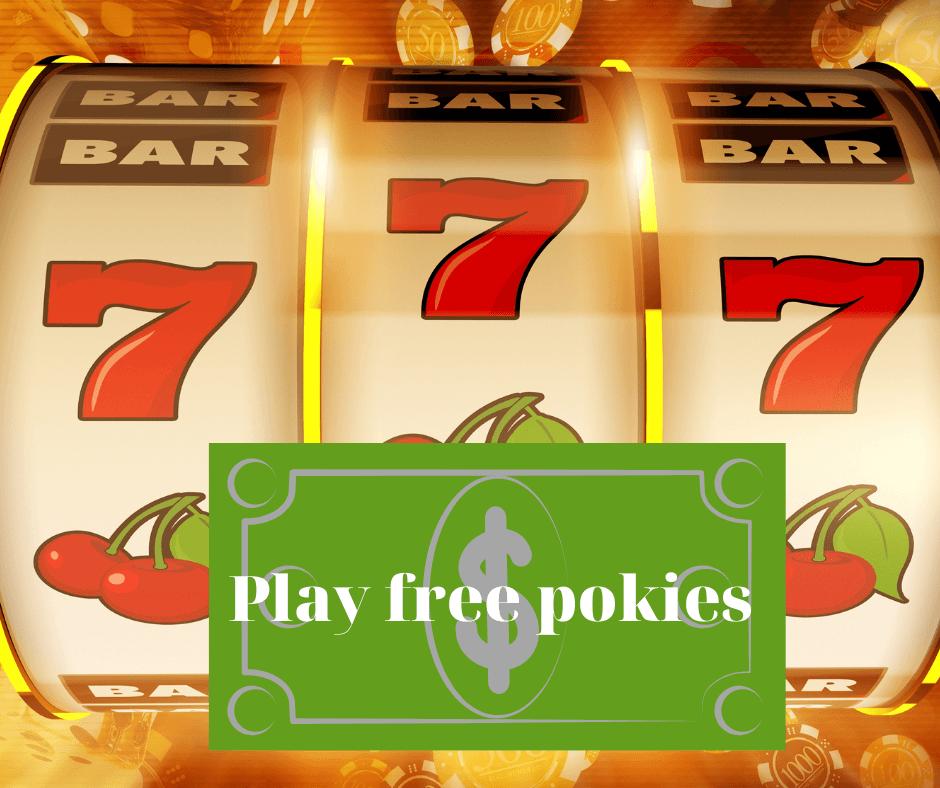 Play free pokies